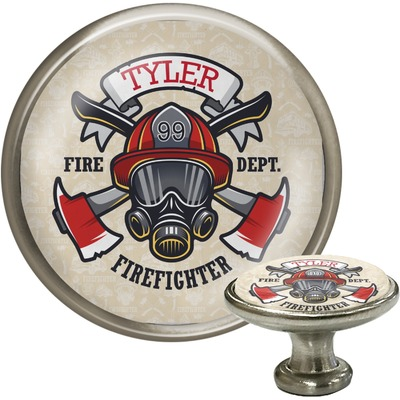 Firefighter Cabinet Knobs (Personalized)