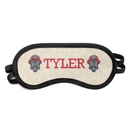 Firefighter Sleeping Eye Mask - Small (Personalized)