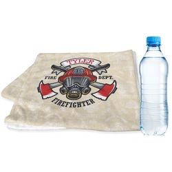 Firefighter Sports Towel (Personalized)