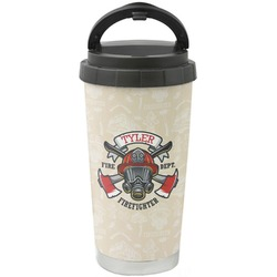 Firefighter Stainless Steel Travel Mug (Personalized)