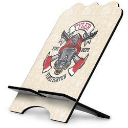 Firefighter Stylized Tablet Stand (Personalized)