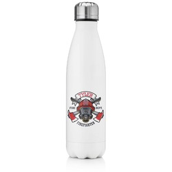 Firefighter Tapered Water Bottle - 17 oz. - Stainless Steel (Personalized)