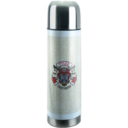 Firefighter Stainless Steel Thermos (Personalized)