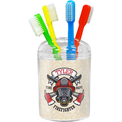 Firefighter Toothbrush Holder (Personalized)