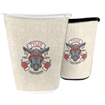 Firefighter Waste Basket (Personalized)