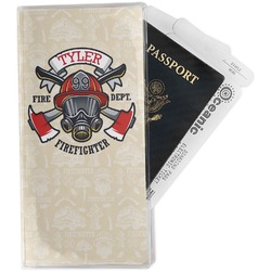 Firefighter Travel Document Holder