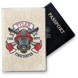 Firefighter Vinyl Passport Holder (Personalized)