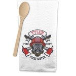 Firefighter Waffle Weave Kitchen Towel (Personalized)