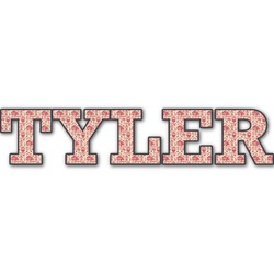 Firefighter Name/Text Decal - Custom Sizes (Personalized)