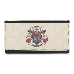 Firefighter Leatherette Ladies Wallet (Personalized)