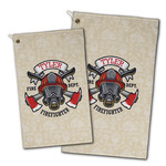 Firefighter Golf Towel - Full Print w/ Name or Text