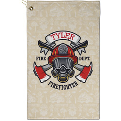 Firefighter Golf Towel - Full Print - Small w/ Name or Text