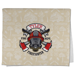 Firefighter Kitchen Towel - Full Print (Personalized)