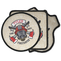 Firefighter Iron on Patches (Personalized)