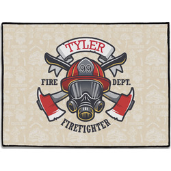 Firefighter Door Mat (Personalized)