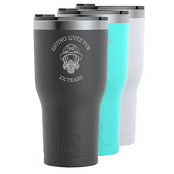 Firefighter RTIC Tumbler - 30 oz (Personalized)