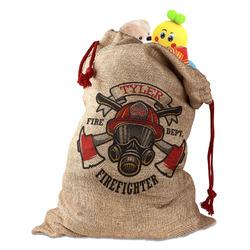 Firefighter Santa Sack (Personalized)