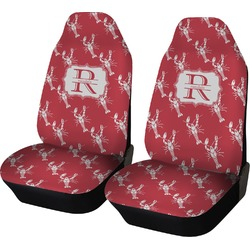 Crawfish Car Seat Covers (Set of Two) (Personalized)