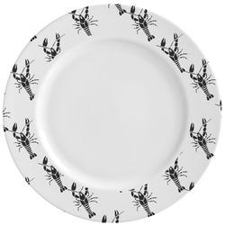 Crawfish Ceramic Dinner Plates (Set of 4) (Personalized)