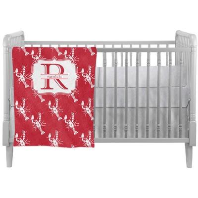Crawfish Crib Comforter / Quilt (Personalized)