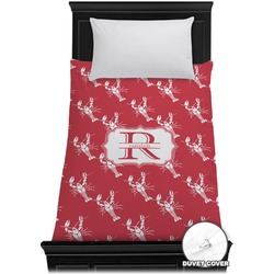 Crawfish Duvet Cover - Twin (Personalized)