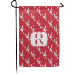 Crawfish Garden Flag With Pole (Personalized)