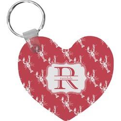 Crawfish Heart Keychain (Personalized)