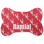 Crawfish Bone Shaped Dog Food Mat (Personalized)