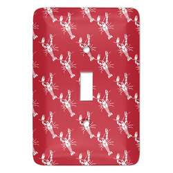 Crawfish Light Switch Cover (Single Toggle) (Personalized)