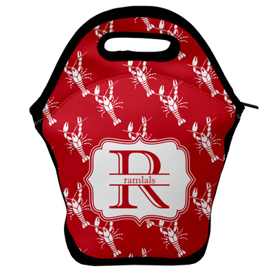 Crawfish Lunch Bag w/ Name and Initial