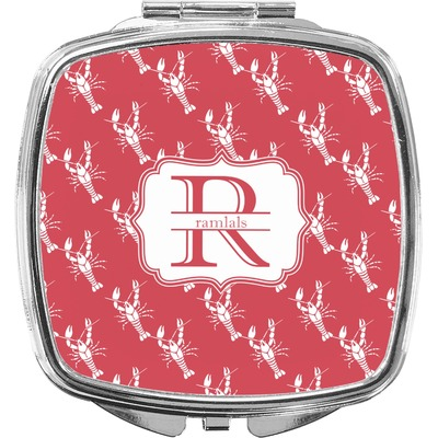 Crawfish Compact Makeup Mirror (Personalized)