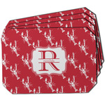 Crawfish Dining Table Mat - Octagon w/ Name and Initial