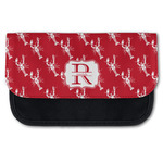 Crawfish Canvas Pencil Case w/ Name and Initial