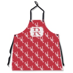 Crawfish Apron Without Pockets w/ Name and Initial