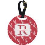 Crawfish Round Luggage Tag (Personalized)