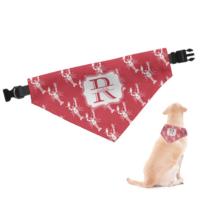 Crawfish Dog Bandana (Personalized)