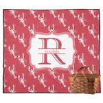 Crawfish Outdoor Picnic Blanket (Personalized)