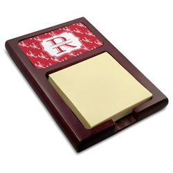 Crawfish Red Mahogany Sticky Note Holder (Personalized)