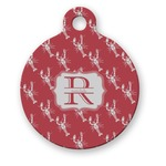 Crawfish Round Pet Tag (Personalized)