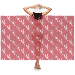 Crawfish Sheer Sarong (Personalized)