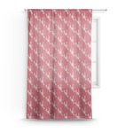 Crawfish Sheer Curtains (Personalized)