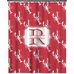 """Crawfish Extra Long Shower Curtain - 70""""x84"""" (Personalized)"""