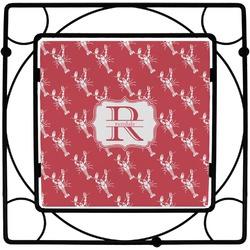 Crawfish Square Trivet (Personalized)