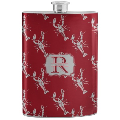 Crawfish Stainless Steel Flask (Personalized)