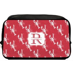 Crawfish Toiletry Bag / Dopp Kit (Personalized)