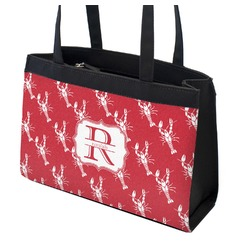 Crawfish Zippered Everyday Tote (Personalized)