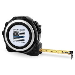 Blue Line Police Tape Measure - 16 Ft (Personalized)