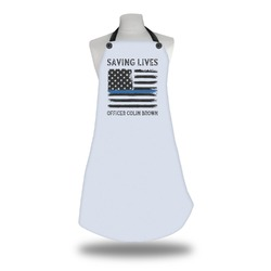 Blue Line Police Apron (Personalized)