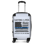 Blue Line Police Suitcase (Personalized)