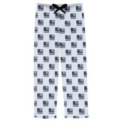 Blue Line Police Mens Pajama Pants (Personalized)